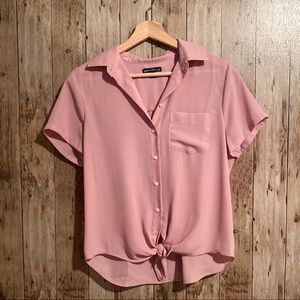 J. Crew blush blouse